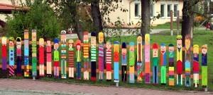 участок в детском саду
