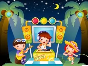 детские песни с минусовкой