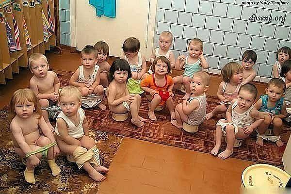 Юмор в детском саду.
