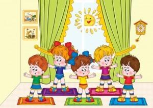 песни для зарядки детского сада