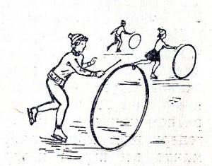гонка обручей