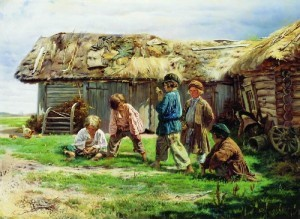 Русская игра бабки