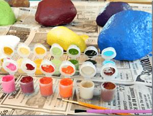 Дайте вашему ребенку краски