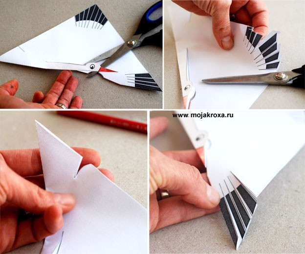 Поделки из белой бумаги своими руками ко дню рождения