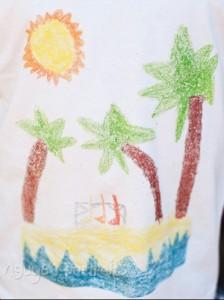 футболка со своим рисунком