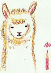 мордочка альпака