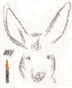 нарисовать кенгуру карандашом