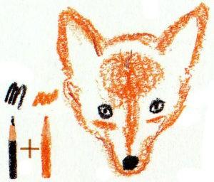 как нарисовать красивую лису карандашом