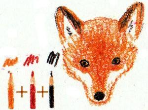как нарисовать лису поэтапно карандашом легко