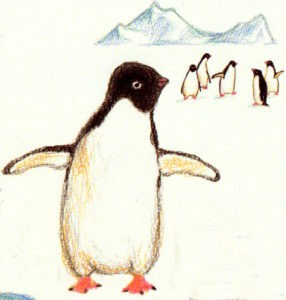 нарисовать пингвина