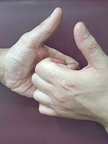 Борьба на больших пальцах