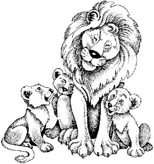 Царь Лев, сказка
