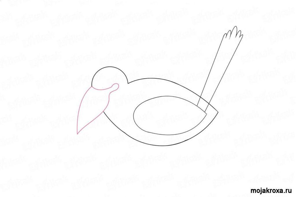 как нарисовать ворону легко