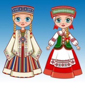 белорусская лялька