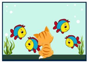 Konspekt po risovaniyu «Ry`bki v akvariume»