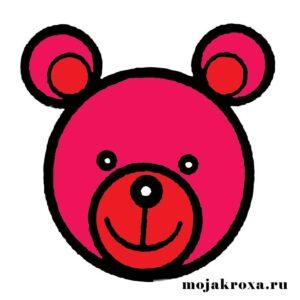 лицо желейного медведя валеры